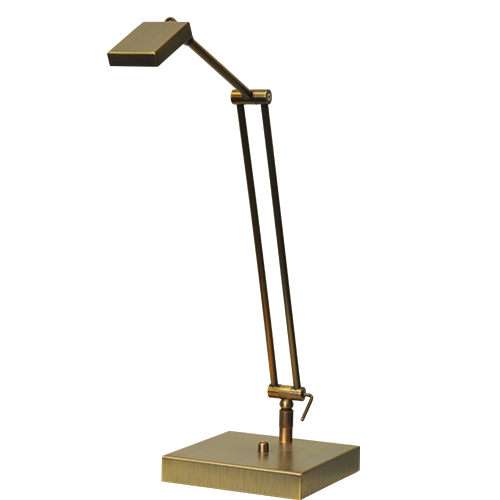 Klassieke leeslamp LED Denia dimbaar