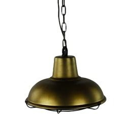 Antiek bronzen hanglamp landelijk