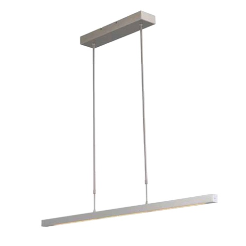 Hanglamp alu 1mtr up+down incl.dim