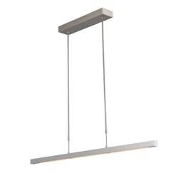 Hanglamp alu 1mtr up+down incl.dim