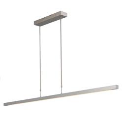 Hanglamp balk alu 160cm led up+down