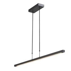 Dim to warm LED hanglamp-balk zwart