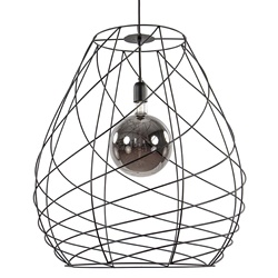 Grote hanglamp draad modern excl. lichtbron