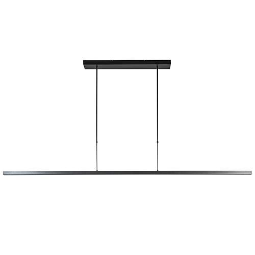 Design LED hanglamp zwart up+down inclusief dimmer