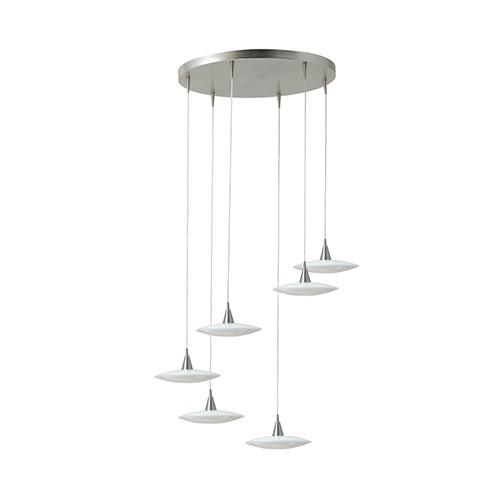 *Moderne Videlamp / hanglamp Disc