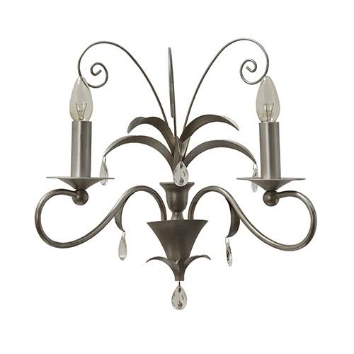 **Romantische wandlamp Moskow met pegels