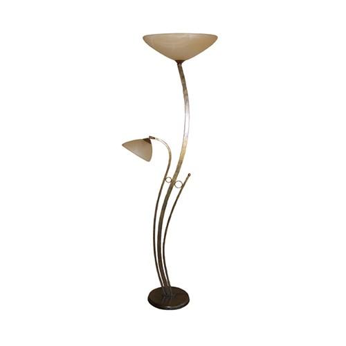Klassieke vloerlamp bolzano brons straluma - Klassieke vloerlamp ...