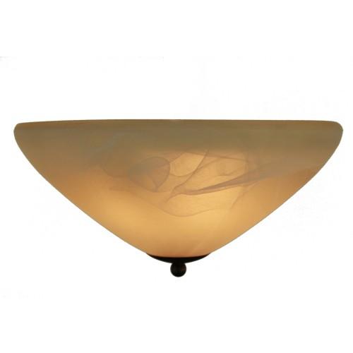 Klassieke plafondlamp rond slaapkamer | Straluma