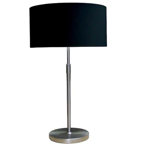 * Tafellamp in hoogte verstelbaar kap zw