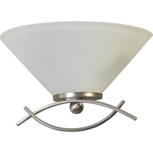 Wandlamp Latina nikkel glas gang
