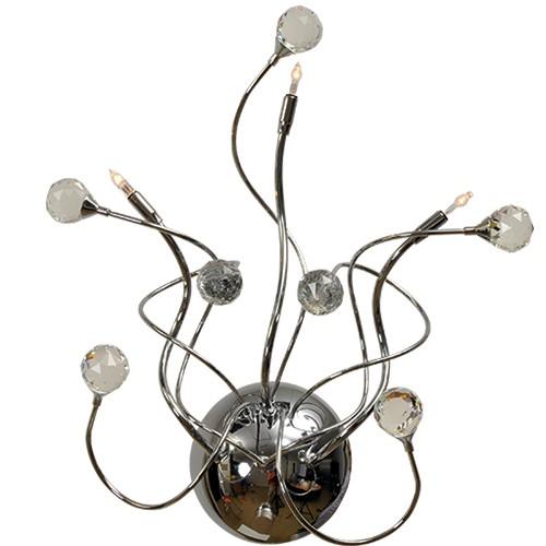 *Romantische decoratieve wandlamp kris