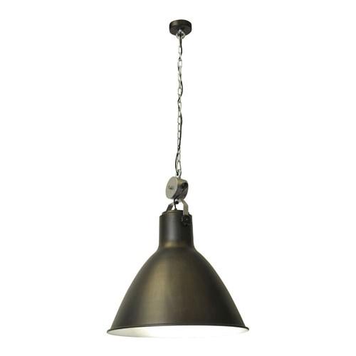 Industiele stoere hanglamp keuken