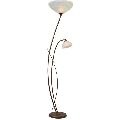 * Klassieke vloerlamp Latina woonkamer