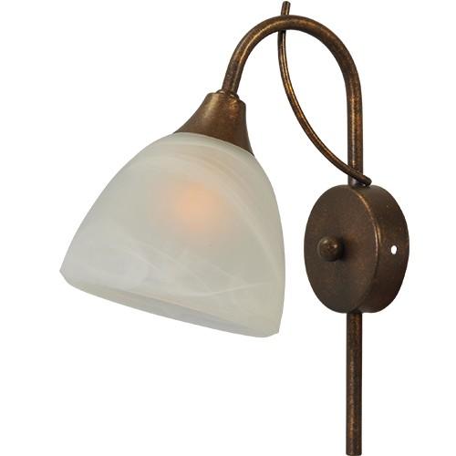 ** Klassieke wandlamp Latina brons/bruin