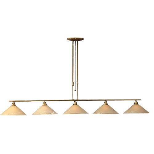 Klassieke hanglamp Ogiva eettafel