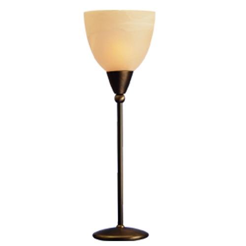 * Klassieke tafellamp Ogiva brons