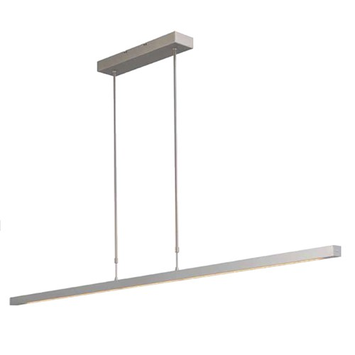 **Design hanglamp LED staal, dim to warm