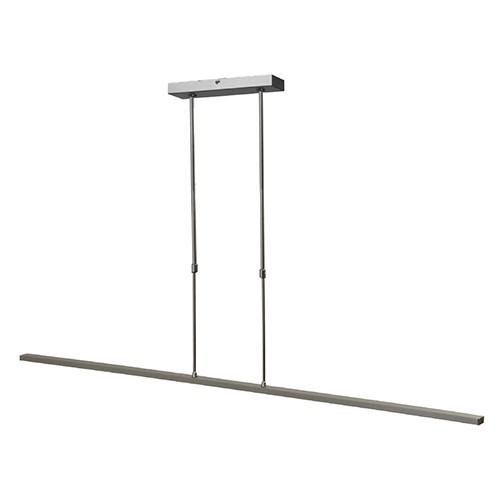 Hanglamp balk alu 130cm led direct