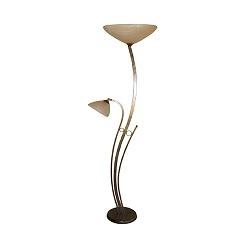 **Klassieke vloerlamp Bolzano brons