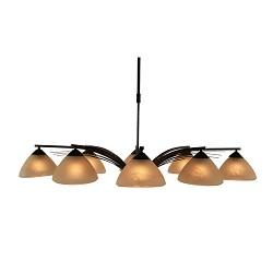 *Klassieke hanglamp eettafel keuken