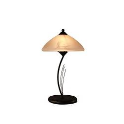 *Smeedijzeren tafellamp klassiek bruin
