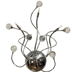 **Romantische decoratieve wandlamp kris