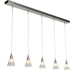 Design hanglamp LED verstelbaar eettaf