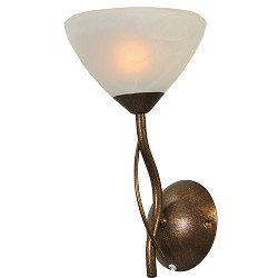 ** Klassieke wandlamp gang/woonkamer