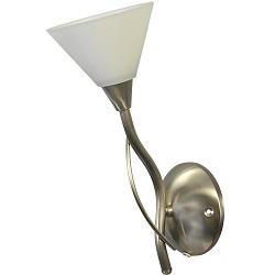 *Wandlamp Latina nikkel gang woonkamer