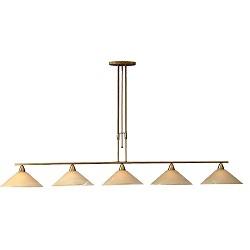 *Klassieke hanglamp Ogiva eettafel