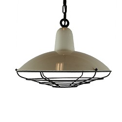 *Industriële hanglamp offwhite keuken