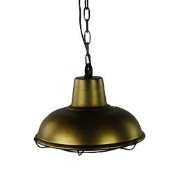 *Antiek bronzen hanglamp landelijk