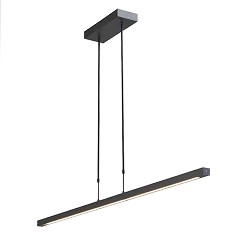 Design hanglamp LED zwart dimbaar