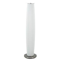 Cilinder vloerlamp opaal glas met LED dim to warm