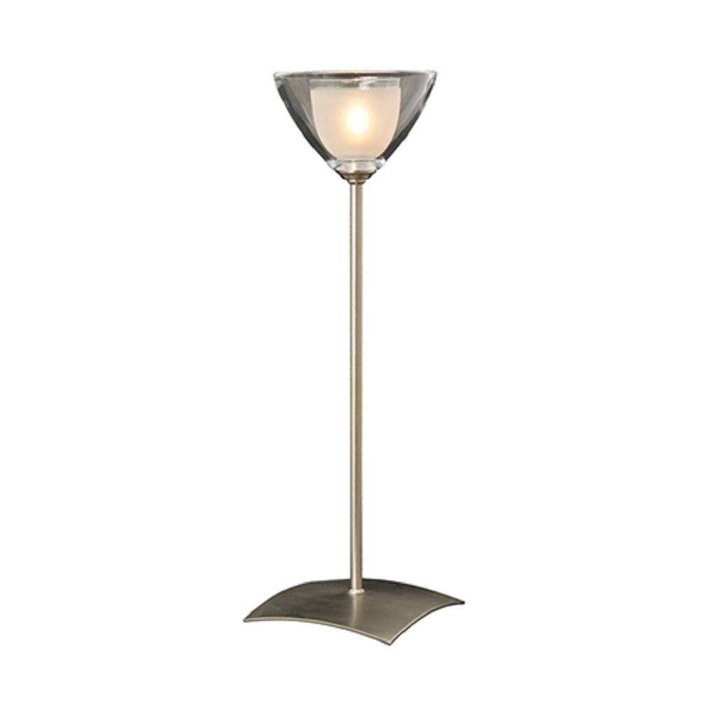Tafellamp Caterina nikkel vensterbank
