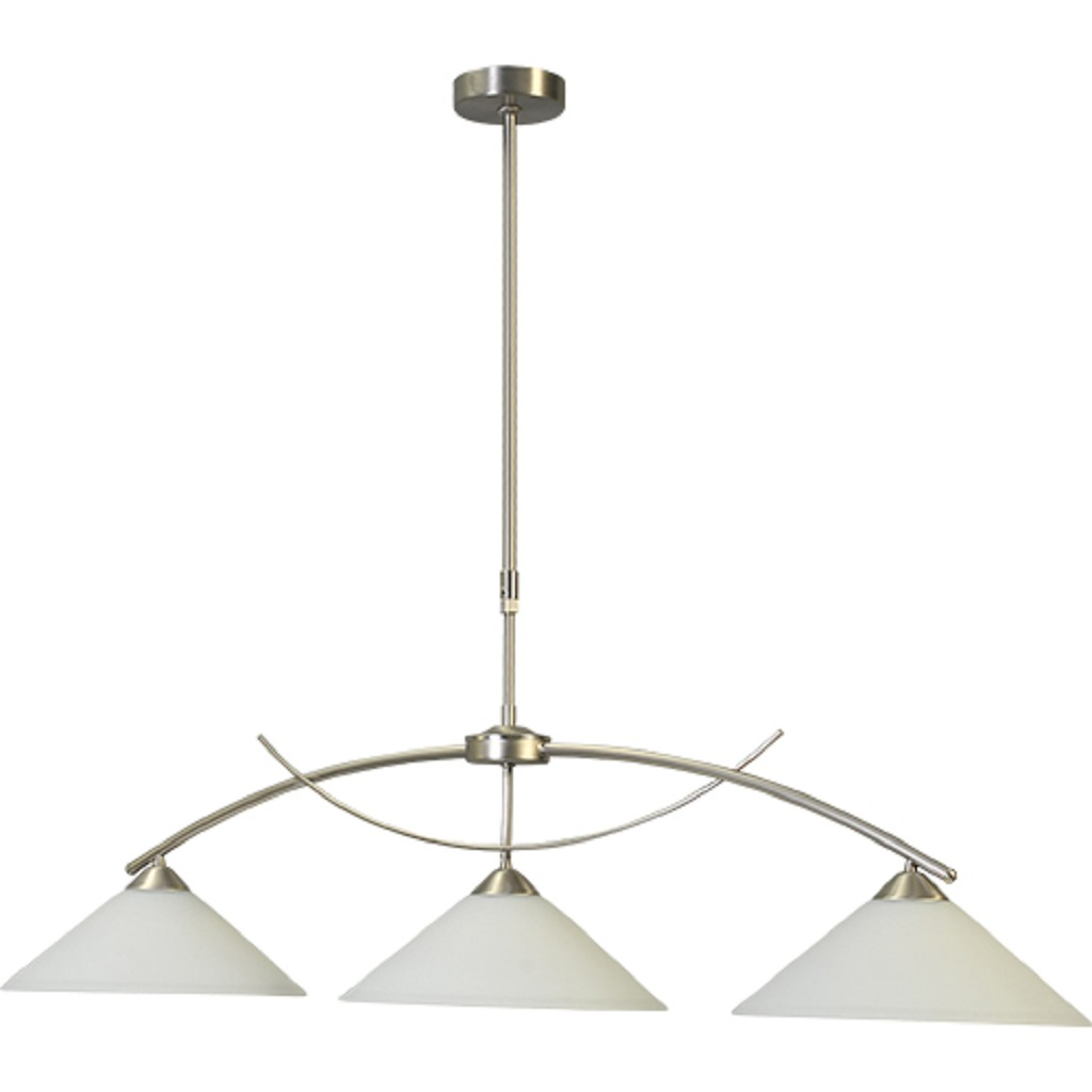 Hanglamp Latina nikkel eettafel