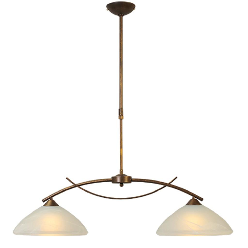 * Klassieke hanglamp Latina eettafel