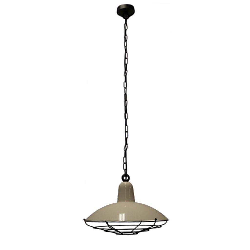 Industriële hanglamp offwhite keuken