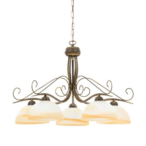 Klassieke eettafel hanglamp rond