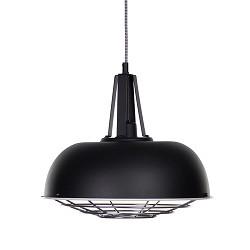 *Industriële hanglamp zwart 'Guard'