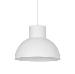 *Kleine ronde hanglamp wit 33 cm