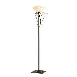 Klassieke staande lamp - uplighter glas