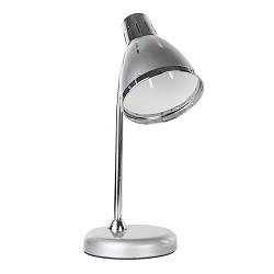 *Zilveren bureaulamp Medina verstelbaar