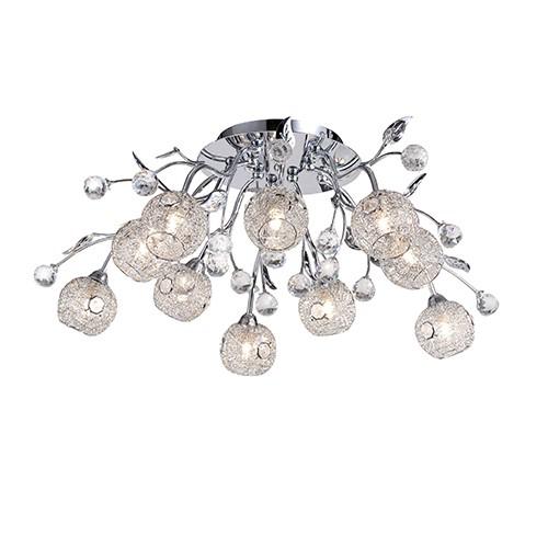 mooie plafondlamp slaapkamer kristal straluma
