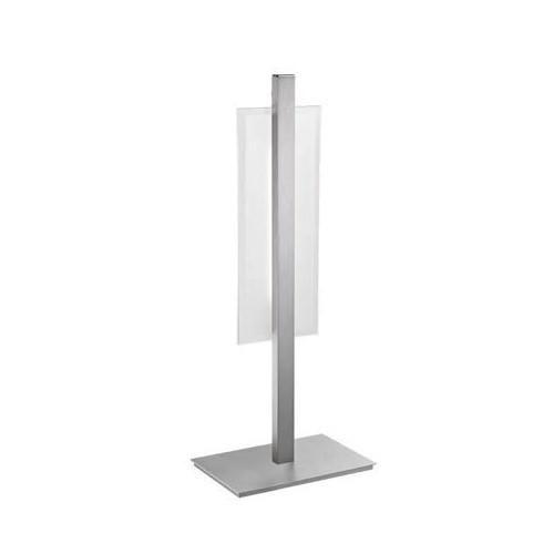 *Modern tafellamp aluminium LED slaapk