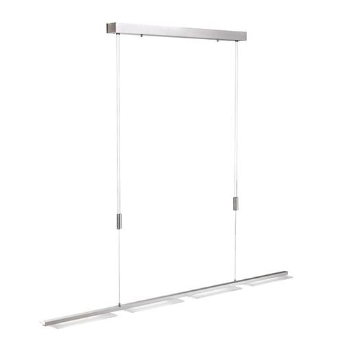 *Hanglamp LED verstelbaar aluminium
