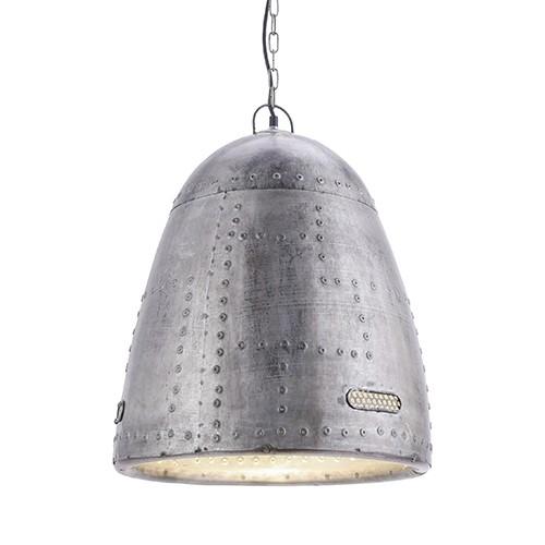 Robuuste hanglamp Samia metaal vintage
