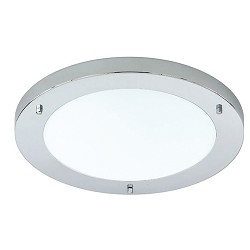 *Badkamerlamp plafondlamp chroom IP44