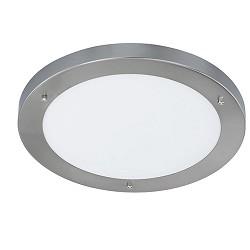 *Plafondlamp badkamer nikkel rond IP44