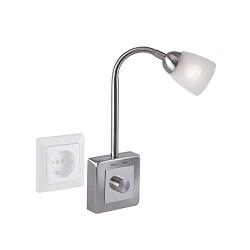 *Stekkerlamp nikkel verstelbaar keuken